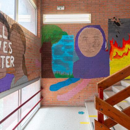 Abadiño graffittis All lives matter