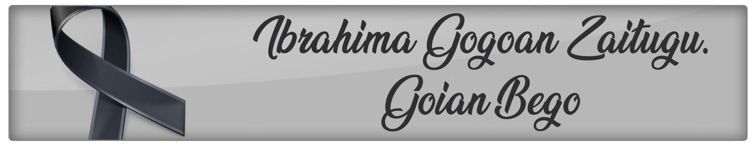Ibrahima Gogoan zaitugu